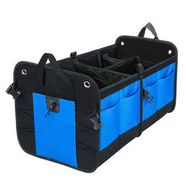 China Polyester / Nylon / PVC Car Trunk Organizer Bag Backseat Cargo Totes For Suvs factory