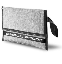 Large Discreet Carbon Smell Proof Bags Easily Concealed Grey Color Eco Friendly