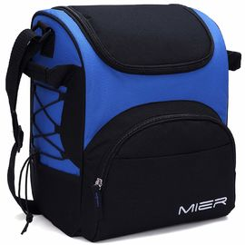 China Reusable Extra Large Insulated Cooler Bag , Blue Insulated Cooler Beach Bags factory