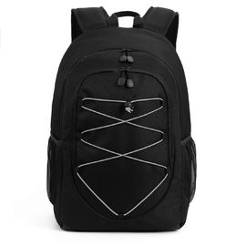 China Day Trips Water / Wine Cooler Backpack , Camping Cooler Backpack Black 28 Cans factory
