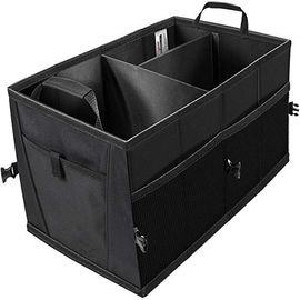 China Vehicle Sedan Interior Collapsible Cargo Organizer / Suv Trunk Storage Organizers factory