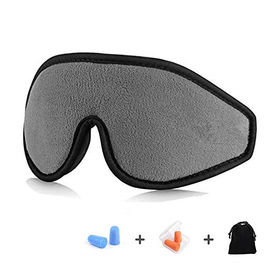 China Personalized Memory Foam Eye Mask And Earplugs For Sleeping / Shift Work factory