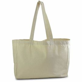 China Multi Colored Cotton Shopping Tote Bags , Extra Thick Oversized Beach Tote Bags factory