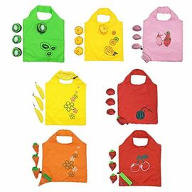 Convenient Reusable Grocery Tote Bags , Eco Friendly Shopping Bags Colorful