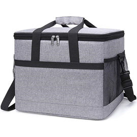 30L Insulated Food Cooler Bags 50- Can Soft Sided For Beach / Picnic / Camping