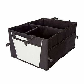 Water Resistant Car Trunk Storage Bins / Car Trunk Tool Organizer With Pockets