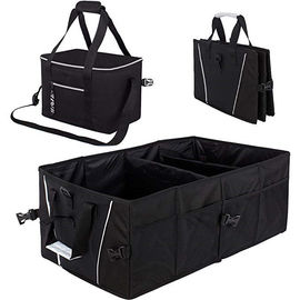 Durable Collapsible  Car Trunk Organizer Bag For Cargo Groceries Storage