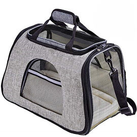 Soft Sided Airline Approved Pet Carrier Bag With Replaceable Skin Covers