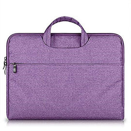 China 14-15.4 Inch Waterproof Laptop Carrying Case Oxford Fabric With Handle Purple factory