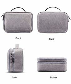 3 Layers Waterproof Cosmetic Organizer Bag Beauty Travel Case With Dividers