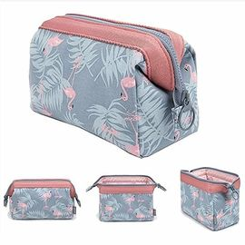 Fashionable Cosmetic Organizer Bag Brush Pouch Toiletry Kit With Zipper